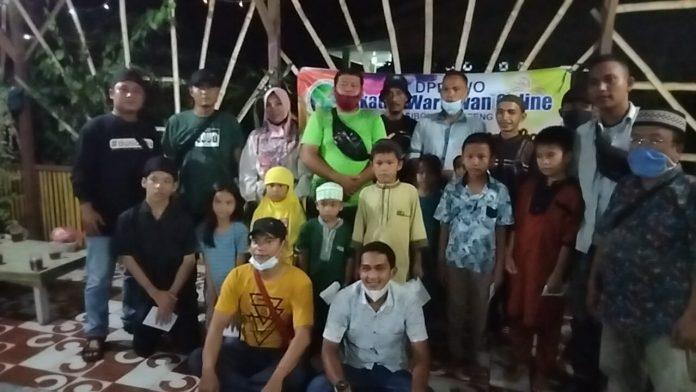 IWO Sibolga-Tapteng Gelar Buka Puasa Bersama dengan Sejumlah Anak Yatim. Foto: istimewa